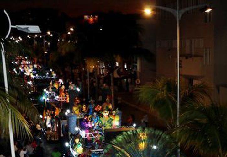 El segundo paseo de la ínsula se realizó a lo largo de la avenida Rafael E. Melgal. (Redacción/SIPSE)
