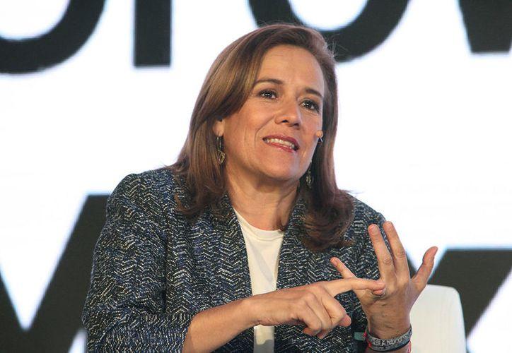 Margarita Zavala criticó que Morena pueda postular a Fausto Vallejo para un puesto de elección popular. (Foto: Proceso)