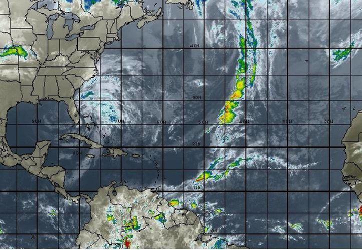 La temperatura máxima en Cancún será de 28 grados; se prevén fuertes vientos. (Intellicast)