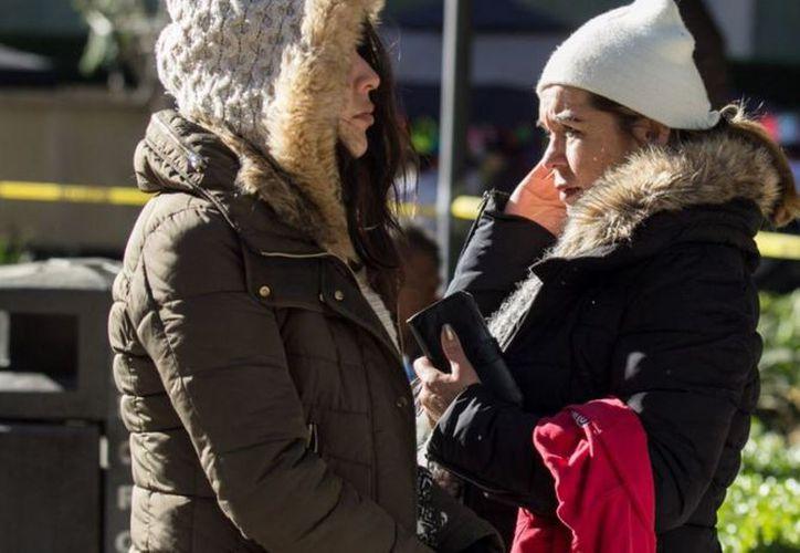 Oaxaca continúa las temperaturas congelantes por efectos del frente frío número 14. (Televisa)