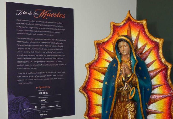 La imagen de la Virgen de Guadalupe que se colocaría en Des Plaines tendría unos 25 metros de altura. (EFE/Archivo)