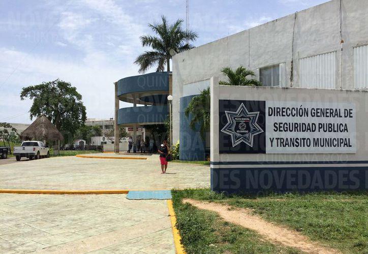 La ampliación del edificio de Seguridad Pública fue la obra a la que se le asignó el menor monto de todas. (Foto: Adrián Barreto/SIPSE)