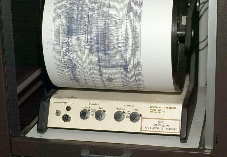 El temblor se sintió en buena parte del país sin que se registraran daños considerables. (EFE)