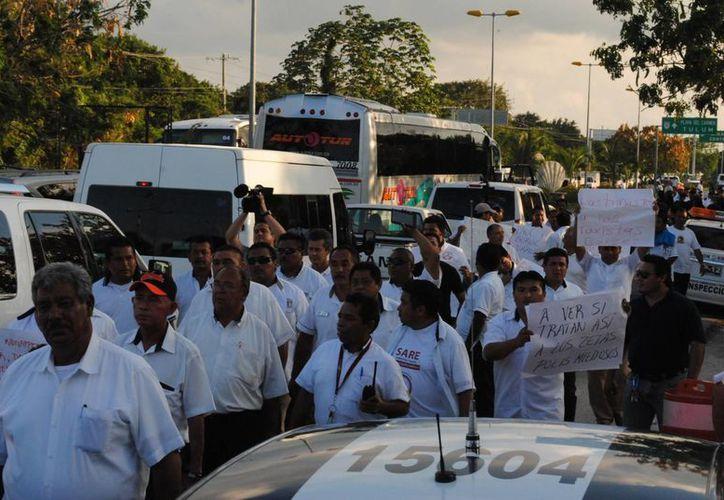 El secretario de Gobierno confirmó que dentro del altercado de hoy hubo entre 32 y 34 detenciones. (Eric Galindo/SIPSE)