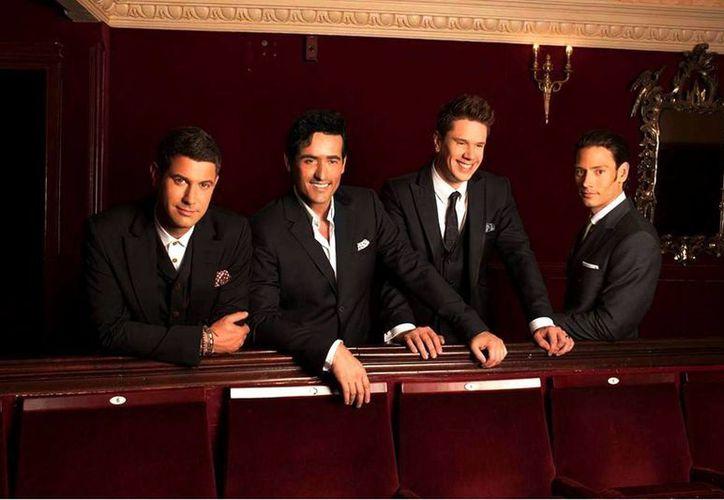 """El cuarteto de ópera pop se encuentra en la promoción de """"A musical affair"""", un álbum con sus versiones personales de grandes musicales de Broadway. (Facebook/Il Divo)"""