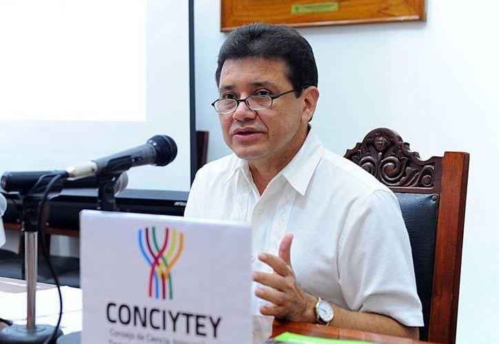 Tomás González Estrada director del Consejo de Ciencia, Innovación y Tecnología de Yucatán (Conciytey).