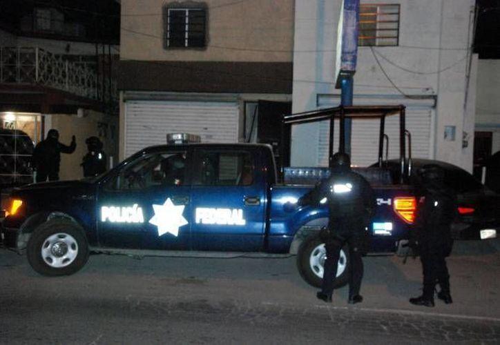 'El Tigre', líder de la organización criminal 'Los Rojos', cayó gracias a un operativo federal. (Notimex/Foto de contexto)