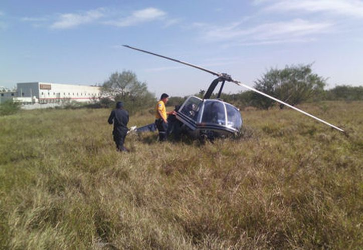 El accidente ocurrió alrededor de mediodía. (Foto: Milenio)