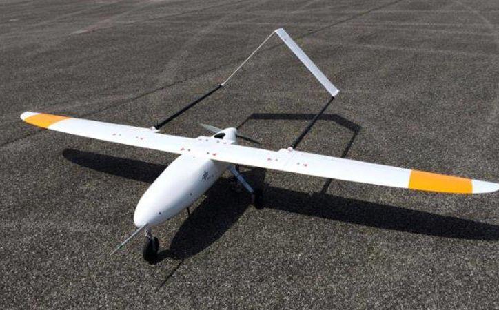 Un dron de ala fija vigilará las selvas mayas. La imagen es de contexto. (dronografía.es)