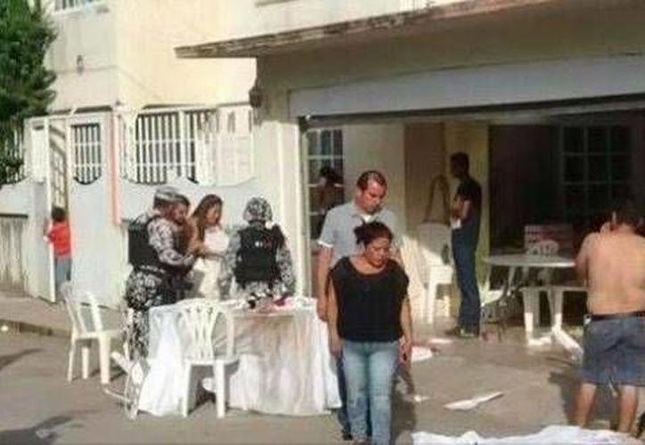Una fiesta en la colonia Adolfo López Mateos, en la zona surponiente de Veracruz, terminó cuando un grupo armado llegó y mató a cinco asistentes. (Foto de Twitter tomado de lopezdoriga.com)