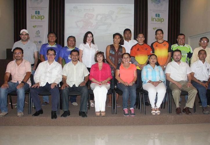 Fotografía del Comité de la Segunda Gran Carrera por la Transparencia del Inaip y el INAI. El evento se realizará el próximo domingo 14 de junio. (inaipyucatan.org.mx)
