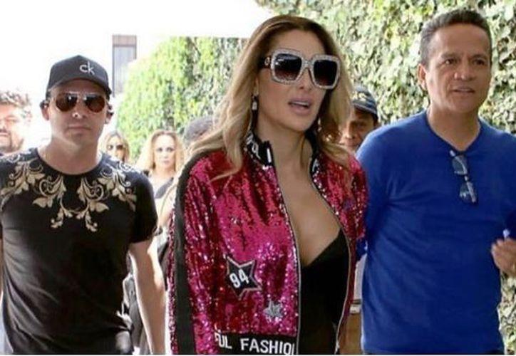 El parecido de las prendas de la famosa con otras líneas fue descubierto por internautas. (SDP)