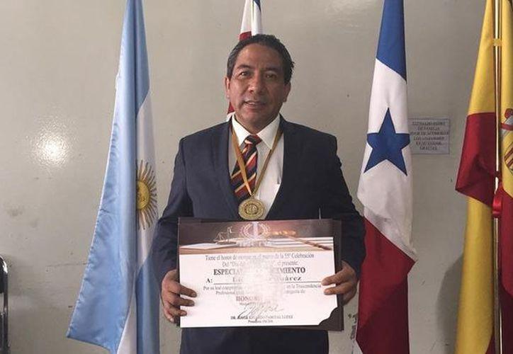 Juárez Cárdenas es representante de Morena en la zona norte del Estado México. (Foto: Animal Político)