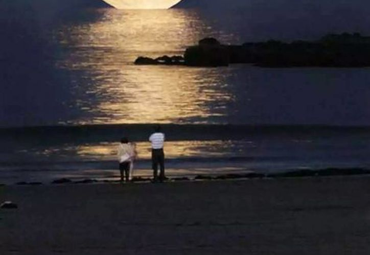 La Superluna será visible la noche del 29 y la madrugada del 30 de agosto. (Contexto/Internet)