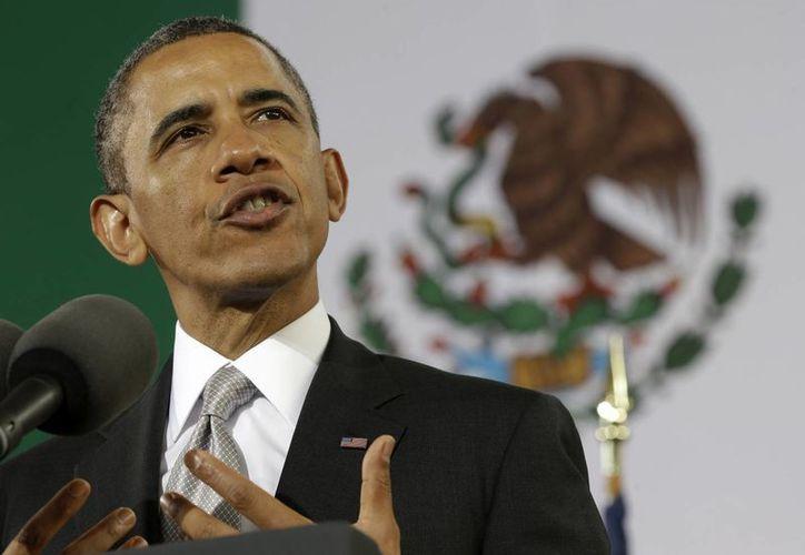 """""""Tiene que ser posible pasar el día sin tener que pagar una 'mordida'"""": Obama. (Agencias)"""