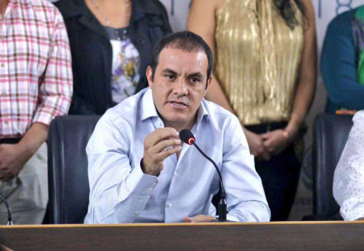 El ex futbolista podría perder su puesto como alcalde de Cuernavaca por el incumplimiento de un pago. (Foto:  AS México)