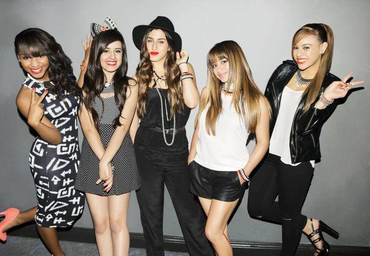 Las integrantes del quinteto Fifth Harmony se preparan para su lanzamiento internacional. (Agencias)