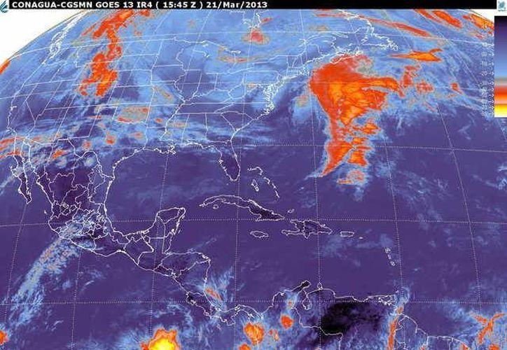 Soplarán vientos variables de 20 a 40 km/h con rachas de 55 km/h. (smn.cna.gob.mx)