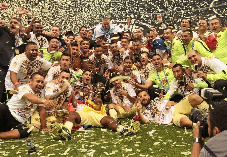 Con el título ante Tigres, el cuadro de Coapa se convirtió en el más ganador de la Concacaf, con siete títulos. (Notimex)