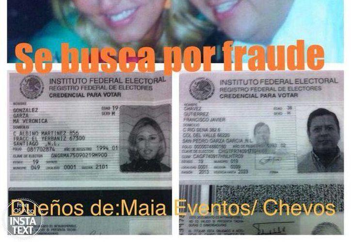 María Verónica González Garza y Javier Chávez Gutiérrez tenían cinco años organizando enlaces nupciales. (Facebook)