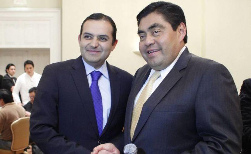 Presentan Cordero y Barbosa ruta crítica para una reforma política. (Notimex)
