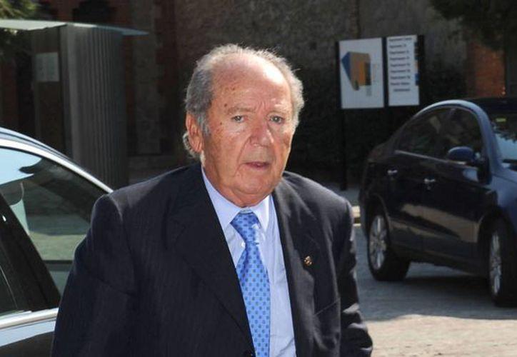 Ni siquiera su edad salvará al expresidente del FC Barcelona, José Luis Nuñez, de 83 años, de ir a prisión. (huffingtonpost.es/Foto de archivo)