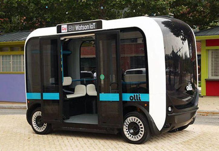 Olli podría llegar a 50 países en el futuro (Local Motors)