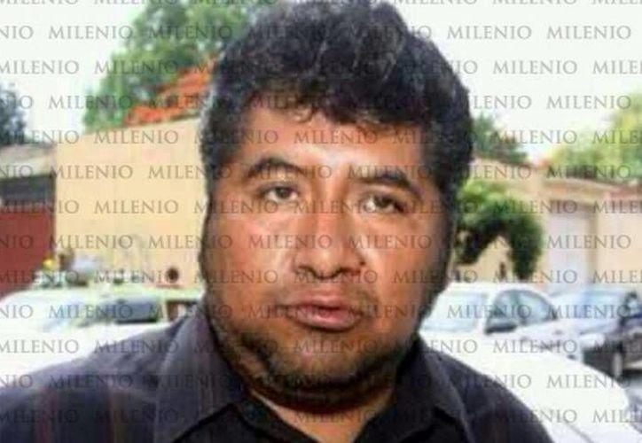 José Alfredo Martínez, ex representante de la sección 22 (Víctor Hugo Michel/MILENIO)
