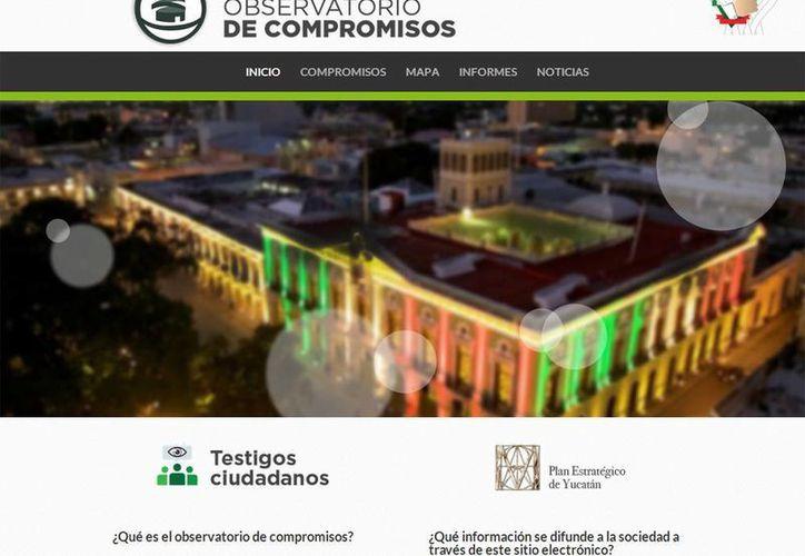 Desde ayer el Observador informa de los 62 compromisos cumplidos, de los 227 que Rolando Zapata certificó ante notario público. (observatorio.yucatan.gob.mx)