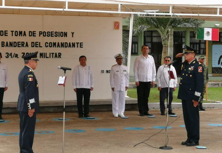 Asume nuevo mando en la 34a. Zona Militar en Chetumal - Sipse.com