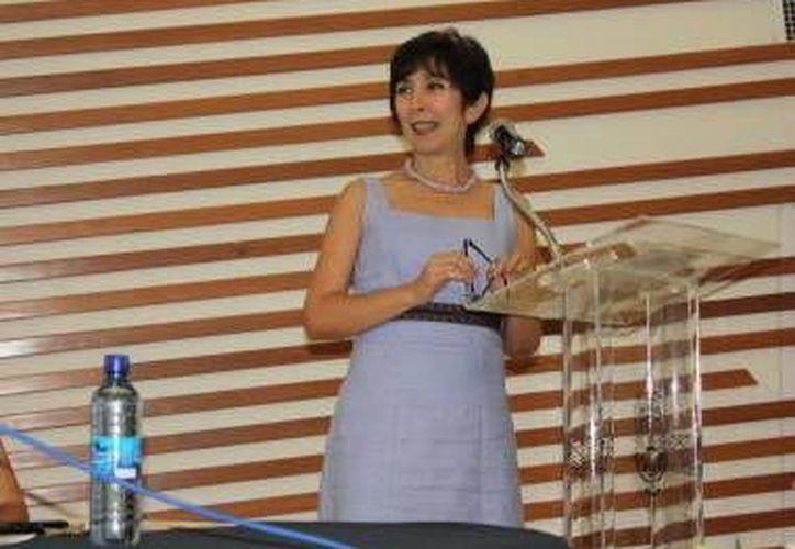 Genny Negroe, directora de la Facultad de Ciencias Antropológicas. (SIPSE)