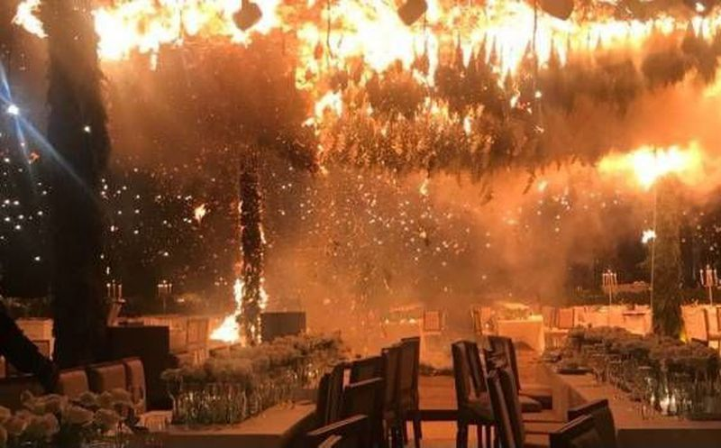 (VIDEO) Un fuego termina con una boda en Jalisco