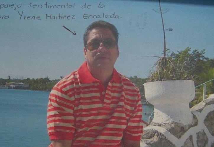 Francisco Lalde, ex pareja sentimental. (Redacción/SIPSE)