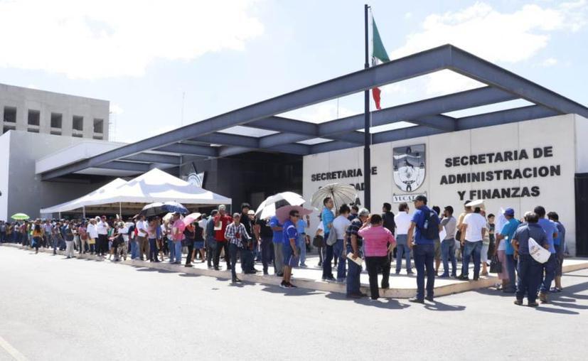 Se suspenderán las actividades en los 8 módulos habilitados para la realización de dicho trámite.  (Novedades Yucatán)
