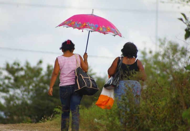 Se espera que llueva hoy y mañana en algunas zonas de Yucatán. (Juan Albornoz/SIPSE)