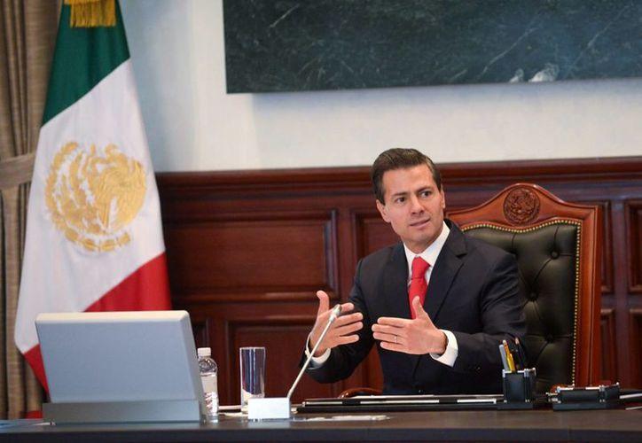El presidente Enrique Peña Nieto comienza hoy una gira de trabajo por Houston, Texas. (Archivo/Notimex)