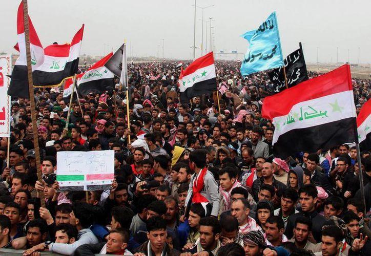 El gobierno integró una comisión para atender las demandas de los suníes. (Agencias)