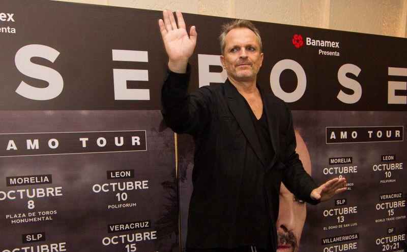 Miguel Bosé declaró en tono agridulce que ha sido uno de los mayores nominados a los premios Latin Grammy, pero ha ganado muy pocas veces. (Notimex)