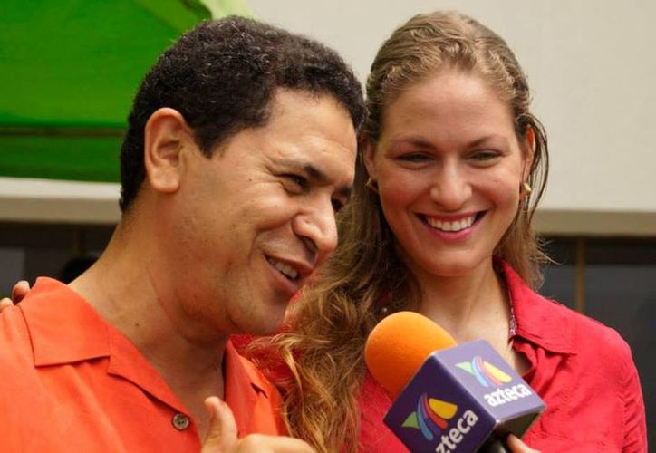 La esposa de Greg Sánchez busca ganar la presidencia municipal de Benito Juárez. (Foto: Contexto)