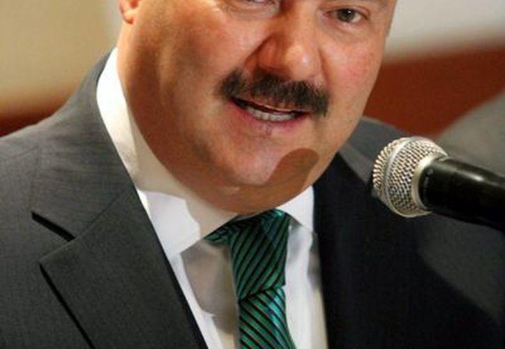El gobernador César Duarte Jáquez dio a conocer el arresto de Óscar Eduardo Vargas, alias El Negro. (Archivo/Notimex)