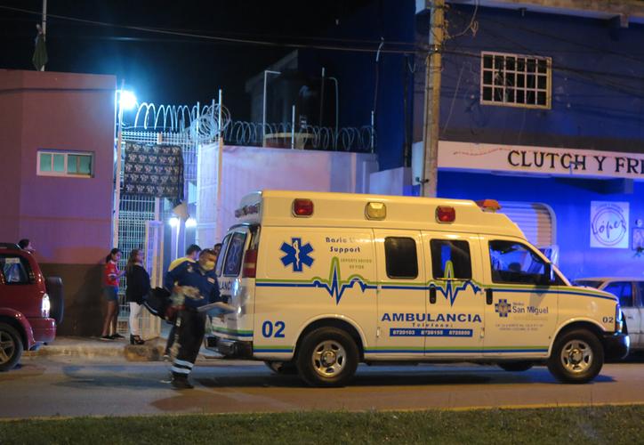 Cuando llegaron los paramédicos, el sujeto estaba inconsciente. (Redacción/SIPSE)