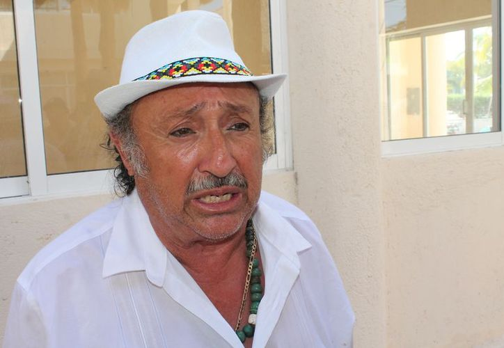 Ignacio Cáceres Correa quiere ser comisariado ejidal de San Ángel con anexo Chiquilá. (Raúl Balam/SIPSE)
