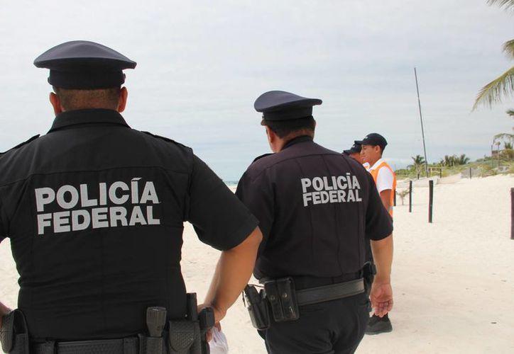 A partir de mañana llegarán a Tulum los policías federales que resguardarán el orden durante las actividades del Tianguis Turístico. (Rossy López/SIPSE)