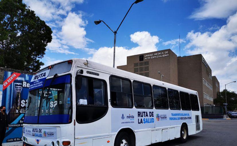 """La """"Ruta de la salud"""" integra 23 circuitos de transporte interrelacionados. (Novedades Yucatán)"""