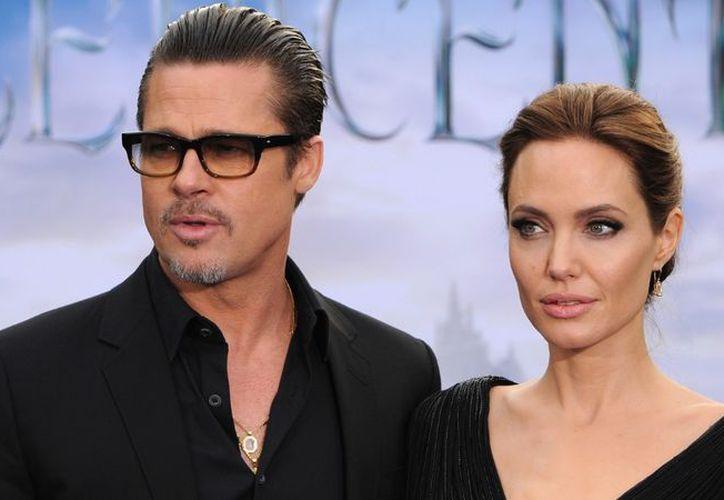 Angelina Jolie demando a Brad Pitt por no darle la pensión para sus hijos. (Foto: CNN)