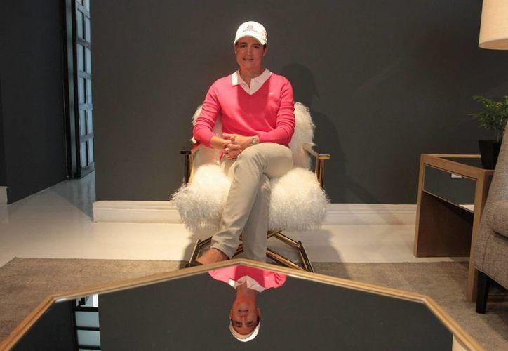 Ochoa, considerada la mejor golfista mexicana de todos los tiempos, ofrecerá una clínica en el Zócalo capitalino. (Foto: Notimex)