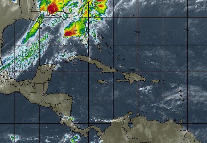 Las lluvias continuarán durante el transcurso de la semana. (Intellicast)