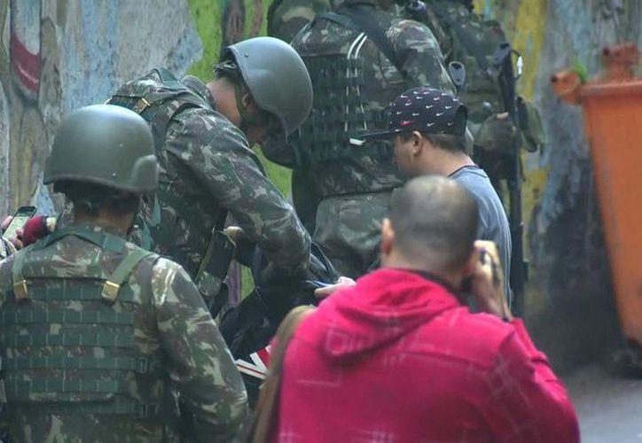 Van más de cuatro meses ya de Intervención Federal en Río. (Twitter)