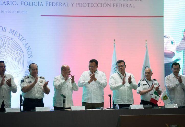 Por dos días, la segunda Sesión Conjunta de la Conferencia Nacional de Secretarios de Seguridad Pública impulsó entre autoridades y sociedad civil un diálogo en torno al tema. (Cortesía)