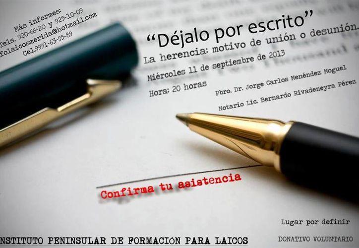 Las personas que mueren sin dejar testamento heredan una serie de problemas a sus deudos. (SIPSE)